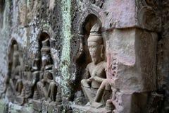 Angkor Wat of Kampuchea Stock Photography