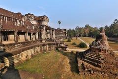 Angkor Wat of Kampuchea Stock Images