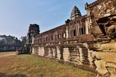 Angkor Wat of Kampuchea Royalty Free Stock Photo