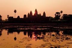Angkor Wat of Kampuchea Royalty Free Stock Image