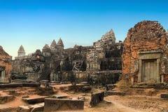 Angkor Wat, Khmer ναός σύνθετος, Ασία η Καμπότζη συγκεντρώνει siem Στοκ εικόνες με δικαίωμα ελεύθερης χρήσης