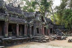 Angkor Wat, Khmer ναός σύνθετος, Ασία η Καμπότζη συγκεντρώνει siem Στοκ Εικόνα