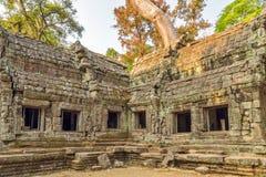 Angkor Wat, Khmer ναός σύνθετος, Ασία η Καμπότζη συγκεντρώνει siem Στοκ φωτογραφία με δικαίωμα ελεύθερης χρήσης