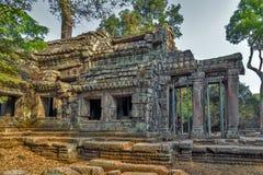 Angkor Wat, Khmer ναός σύνθετος, Ασία η Καμπότζη συγκεντρώνει siem Στοκ Εικόνες