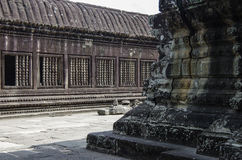 Angkor Wat. Khmer temple, Cambodia, Southeast Asia. UNESCO World Heritage Site Stock Photos