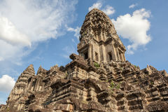 Angkor Wat the landmark of Siem reap in Cambodia. Royalty Free Stock Photos