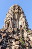 Angkor Wat the landmark of Siem reap in Cambodia. Royalty Free Stock Photos