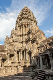Angkor Wat the landmark of Siem reap in Cambodia. Royalty Free Stock Image