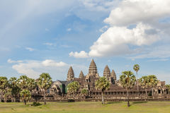 Angkor Wat the landmark of Siem reap in Cambodia. Stock Images