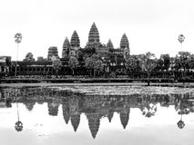 Angkor Wat landscape Royalty Free Stock Photo