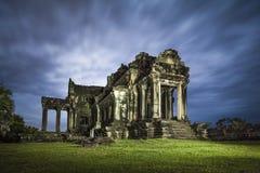 Angkor Wat Library Arkivfoto
