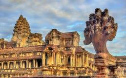 Angkor Wat Main Temple at Siem reap, Cambodia Royalty Free Stock Image