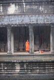 Angkor Wat michaelita monsunu Młody sezon Fotografia Royalty Free