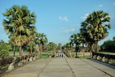 Angkor Wat in the morning sun light Royalty Free Stock Image