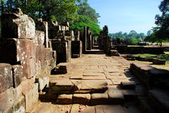 Angkor Wat in the morning sun light Royalty Free Stock Photo