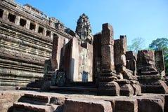 Angkor Wat in the morning sun light Stock Photos