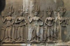 Angkor Wat nascosto antico Fotografia Stock
