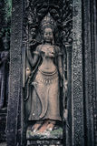 Angkor Wat. One of the many carvings in Angor Wat Royalty Free Stock Image