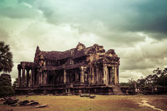 Angkor Wat - One of the 7 Wonders of the World, Cambodia. One of the 7 Wonders of the World - Angkor Wat - UNESCO World Heritage site near Siem Reap - Cambodia Royalty Free Stock Photo