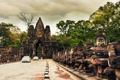 Angkor Wat - One of the 7 Wonders of the World, Cambodia. One of the 7 Wonders of the World - Angkor Wat - UNESCO World Heritage site near Siem Reap - Cambodia Royalty Free Stock Photos