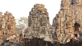 Angkor Wat Panorama Sunset Cambodia 4k video d archivio