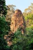 Angkor Wat from Phnom Bakheng at sunset, Cambodia Stock Image