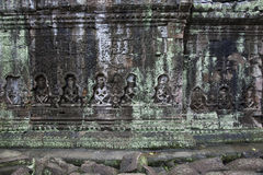 Angkor Wat Preah Khan temple. Cambodia Royalty Free Stock Image