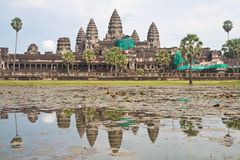 Angkor wat reconstruct Stock Images