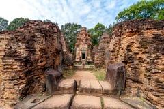 Angkor Wat Red Building Photos libres de droits