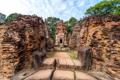 Angkor Wat Red Building Royalty Free Stock Photos