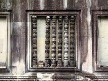 Angkor Wat Reflection Fotografia Stock Libera da Diritti