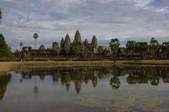 Angkor Wat reflection Royalty Free Stock Photography