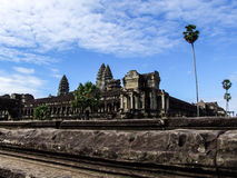 Angkor Wat Reflection Stock Photos