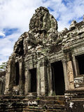 Angkor Wat Reflection Royalty Free Stock Photo