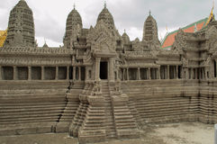 Angkor wat replica Royalty Free Stock Images
