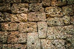 Angkor Wat Rock texturbakgrund Arkivfoto