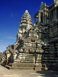 Angkor Wat ruins Royalty Free Stock Photo