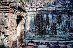 Angkor Wat Ruins. Ancient ruins at Angkor Wat Royalty Free Stock Images