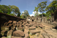 Angkor Wat ruins Stock Photography