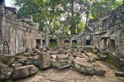 Angkor Wat ruins Royalty Free Stock Photography