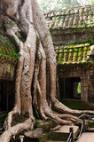 Angkor Wat ruins Stock Photo
