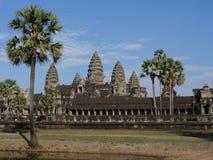 Angkor Wat - sławny Kambodżański punkt zwrotny Zdjęcie Royalty Free