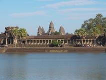 Angkor Wat - sławny Kambodżański punkt zwrotny Obraz Stock