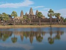 Angkor Wat - sławny Kambodżański punkt zwrotny Obrazy Stock