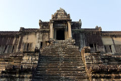 Angkor Wat salente Immagini Stock Libere da Diritti