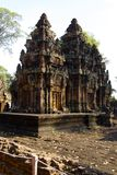 Angkor Wat Shrines Stock Images