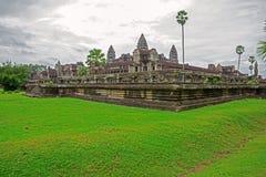 Angkor Wat side view Royalty Free Stock Image