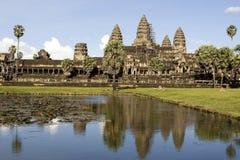 Angkor wat, siem oogst, Kambodja Stock Foto