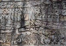 Angkor Wat комплекс виска в Siem Reap, Камбодже стоковые фотографии rf