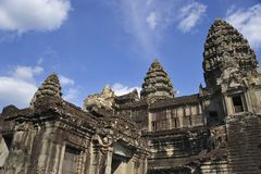 Angkor wat. In Siem Reap of Cambodia Stock Image